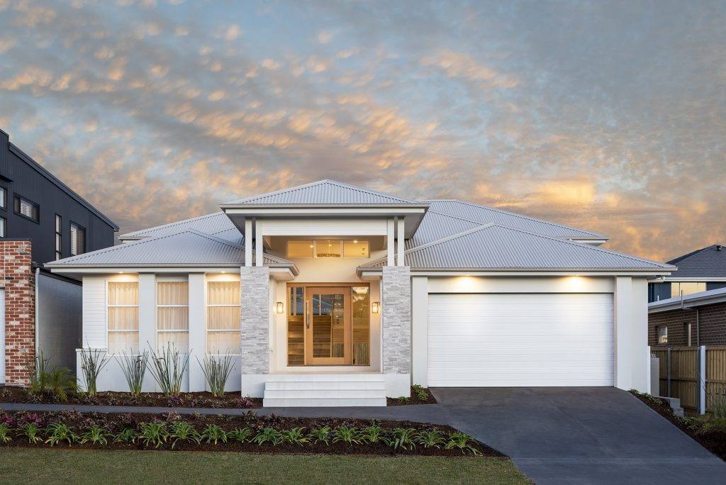 Carolina 1 Split Level Home Design in Box Hill