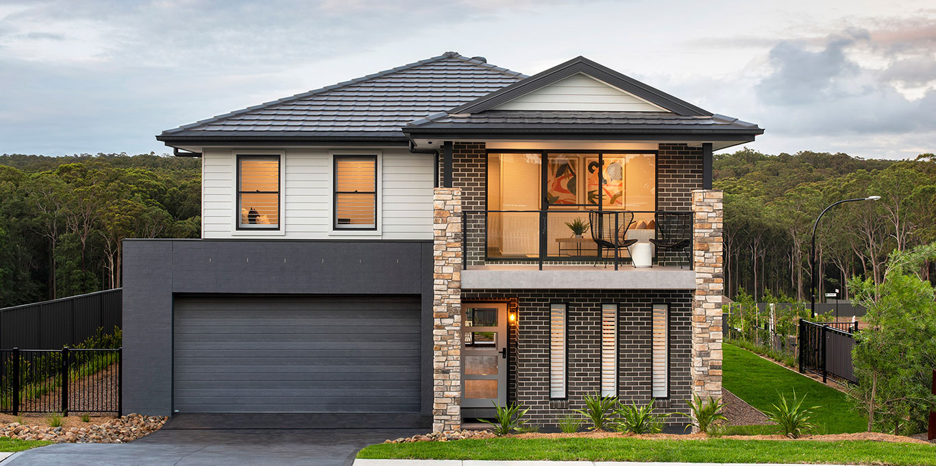 Montgomery-Homes-two-storey-design-display-home-Byron-250-facade