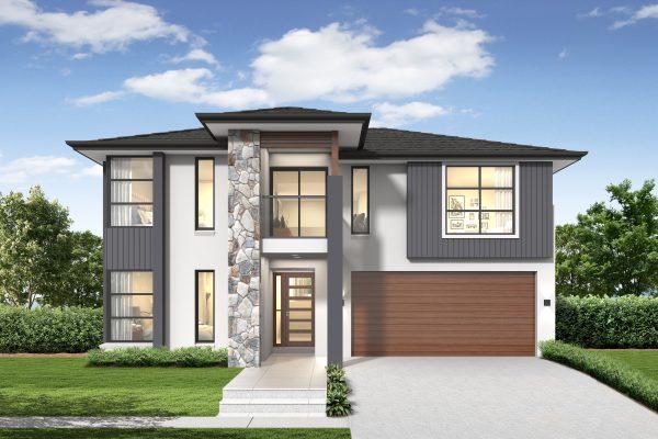 Riviera 1 230 Home Design in Executive Facade