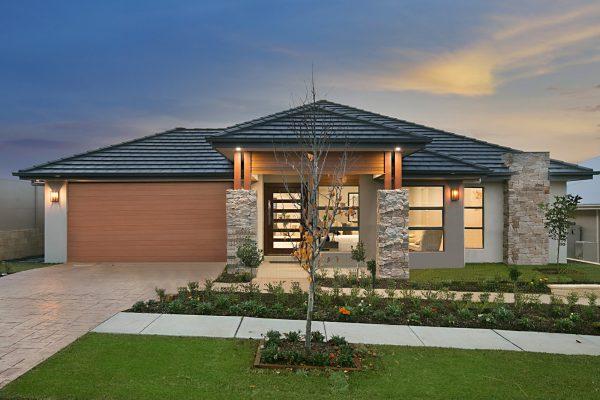 Kirra display home in Huntlee