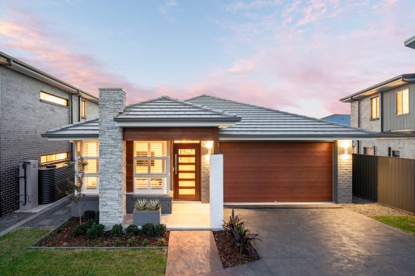 Southport 217 display home in Leppington