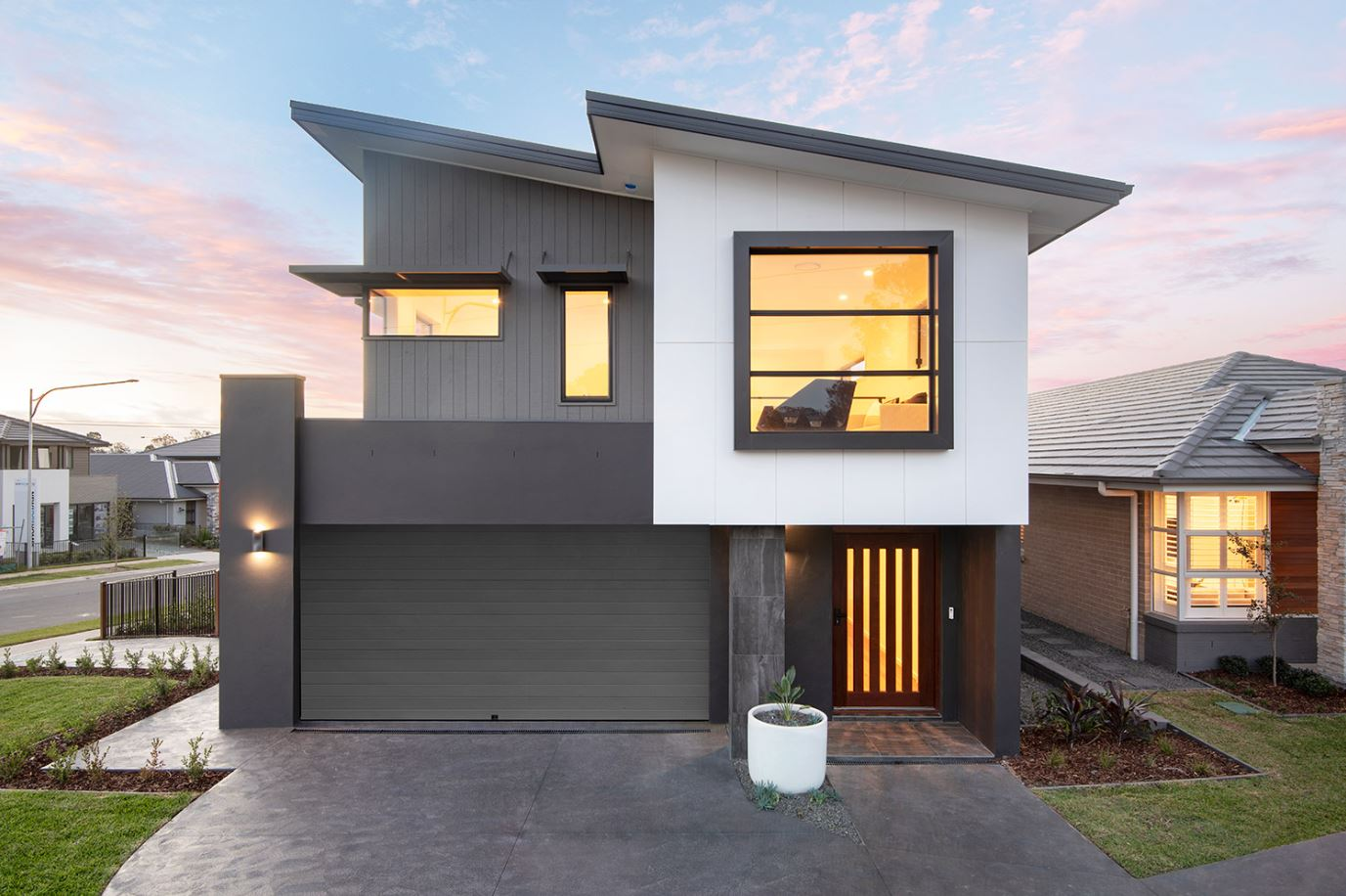 7 Contemporary House Facades To Consider In Your New Build Montgomery Homes