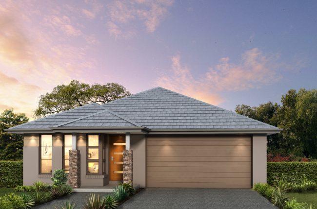 """<u><a href=""""https://www.montgomeryhomes.com.au/home-design/southport-189-affordable/"""">Southport 189 - Cosmo Facade</a></u>"""