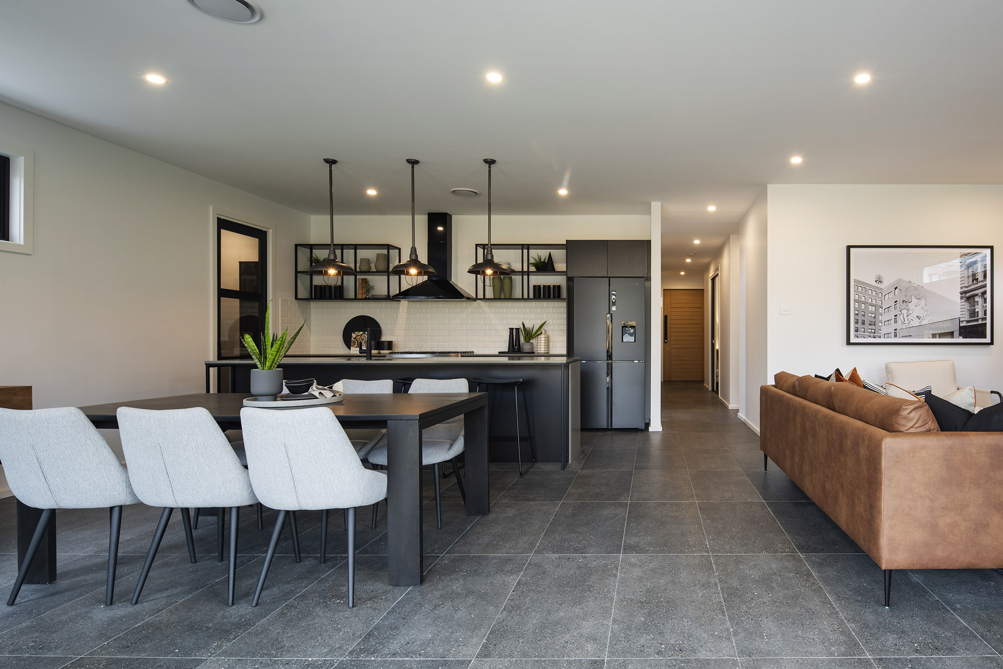 Cayman living and kitchen area