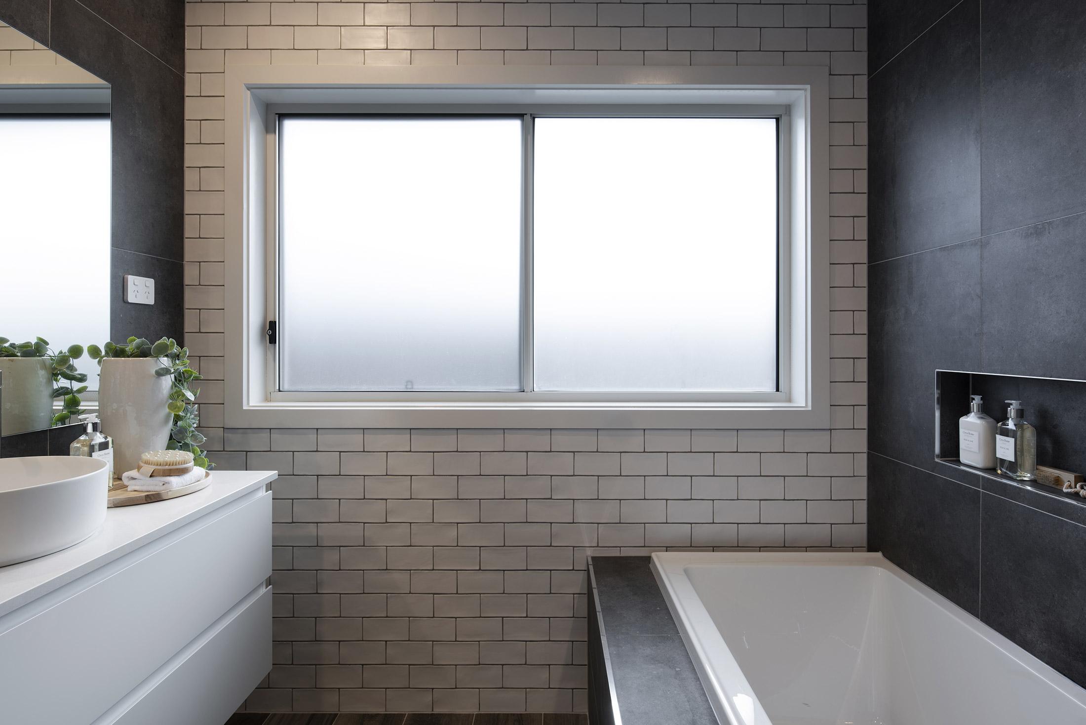 Minimalist style bathroom design