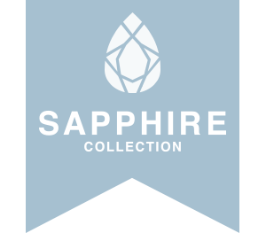 Sapphire Collection ribbon