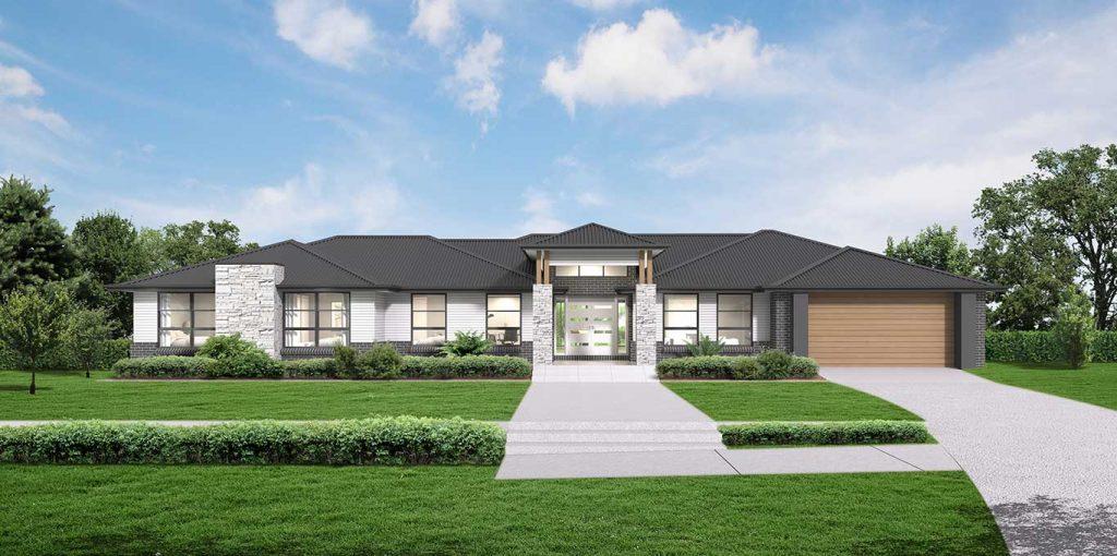 Ridgeview 321 Home Design in the Grande Facade