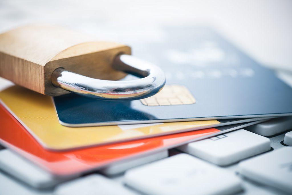 Lock On Credit Cards