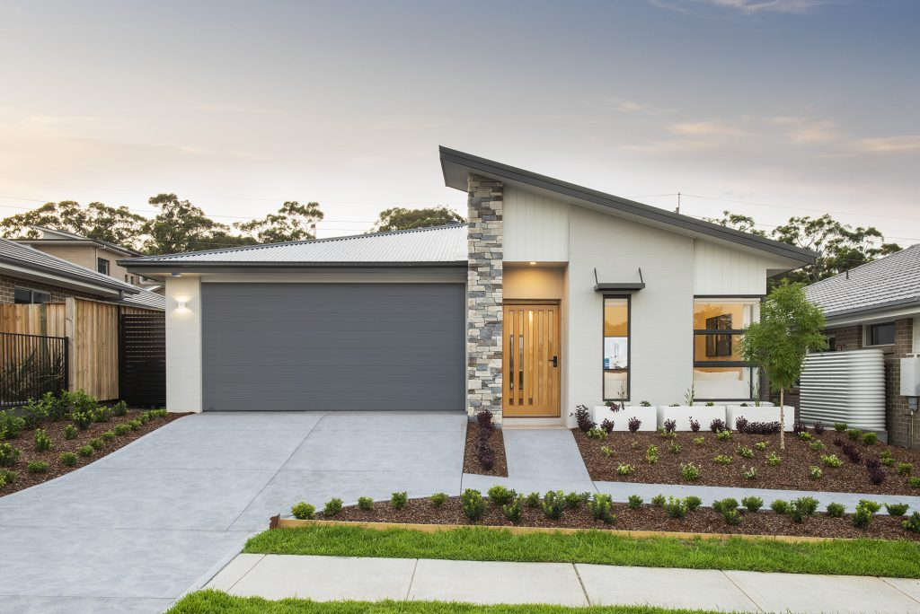 Southport display home Warnervale facade