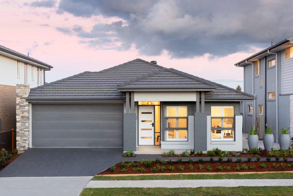 Avalon display home facade