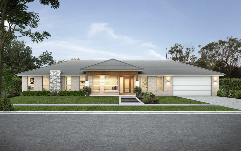 Willowview 230 acreage home design